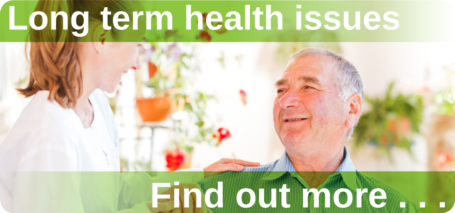 Long term health issues Mount Pleasant Health Centre Exeter find out more