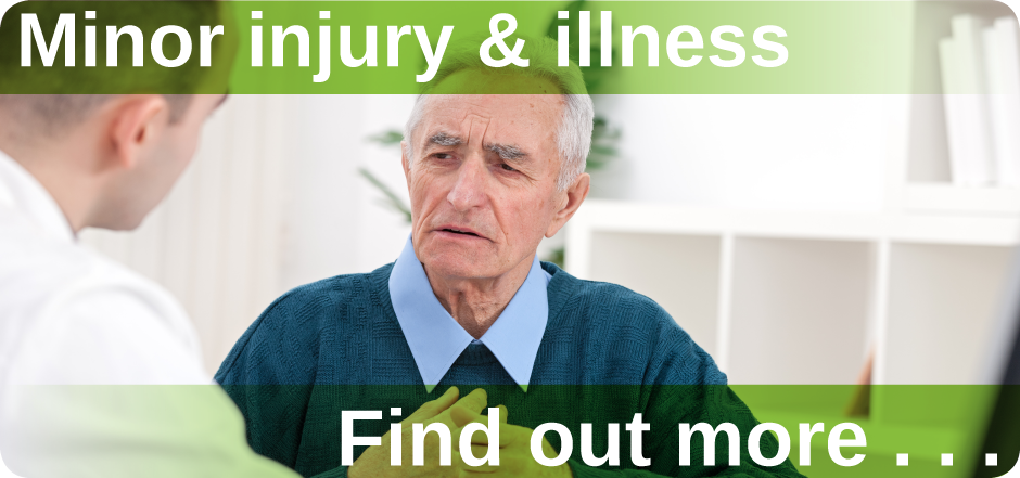 Minor injury & illness Mount Pleasant Health Centre Exeter find out more