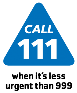 Mount Pleasant Health Centre Exeter call 111 icon