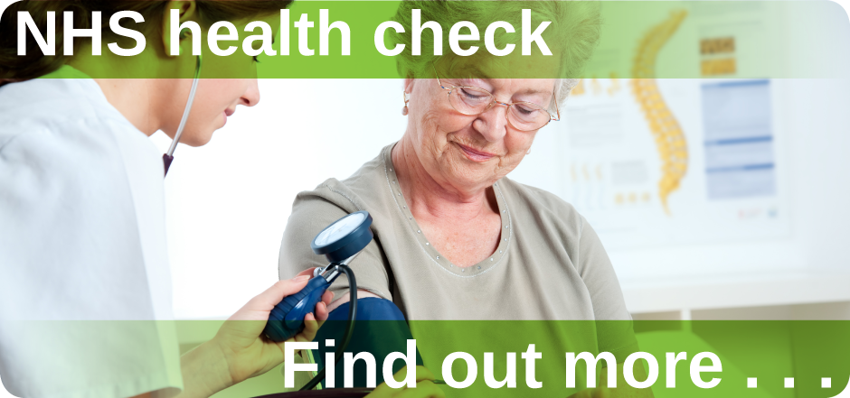 NHS health check Mount Pleasant Health Centre Exeter find out more